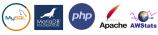MySQL, MariaDB og PHP mv. kan let styres og ændres via administrations interface med et par enkelte klik